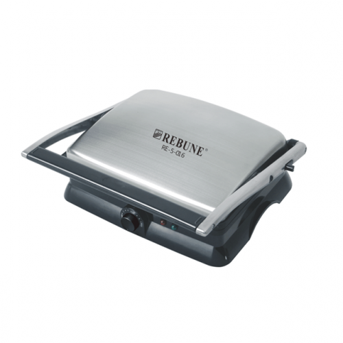 Rebune Electric Grill And Roaster - 2000W -  Silver